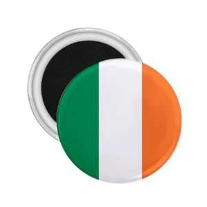 2.25 Ireland World Flag Refrigerator Round Magnets