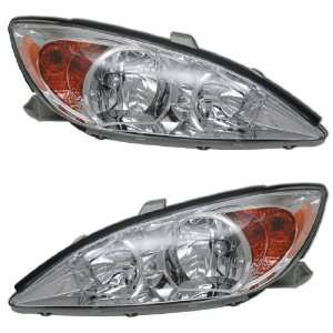 02 04 TOYOTA CAMRY OEM STYLE HEADLIGHTS Automotive
