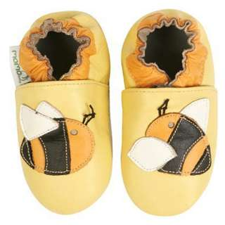 Momo Baby Soft Sole Baby Shoes   Bee Yellow.Opens in a new window