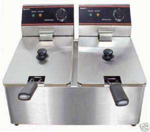 Commercial Double Electric Deep Fryer 120V Lowest Price