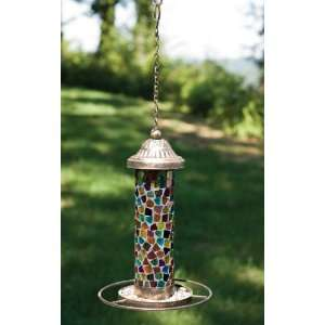 Glass Garden Multicolor Wild Bird Feeder 12 Patio, Lawn & Garden