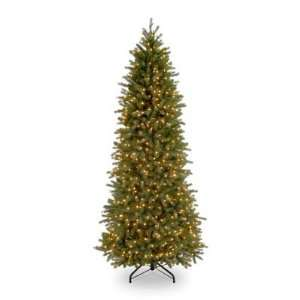 National Christmas Products Jersey Fraser Fir Slim Pre lit Christmas