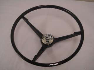 1967 Ford Mustang Steering Wheel (Black) 67