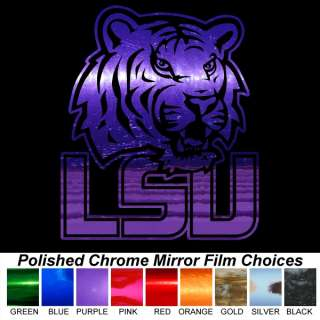 10 inch Pick Color of Chrome Film Auto Car Truck Window Sticker Decal